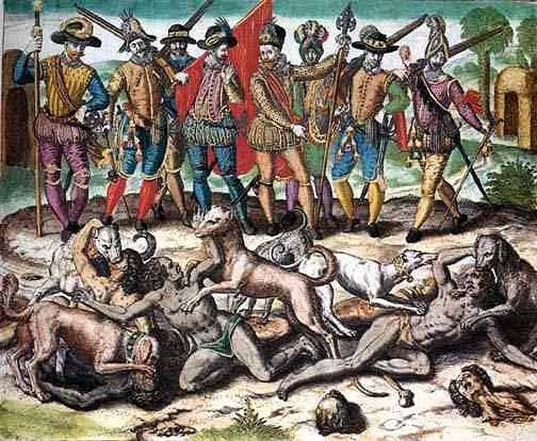 the start of genocide in american history